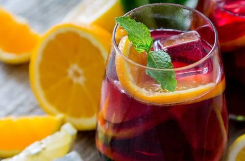 Sangria Tea