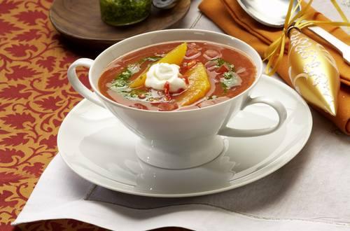 Knorr - Tomatensuppe mit Orangenfilets