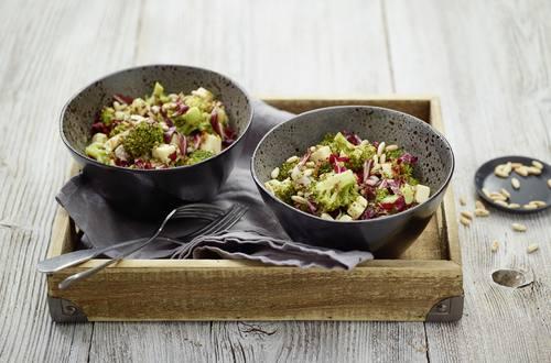 Lauwarmer Broccolisalat
