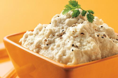 Rich & Creamy Mashed Cauliflower Recipe
