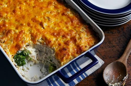 Trisha's Chicken Broccoli Casserole Recipe