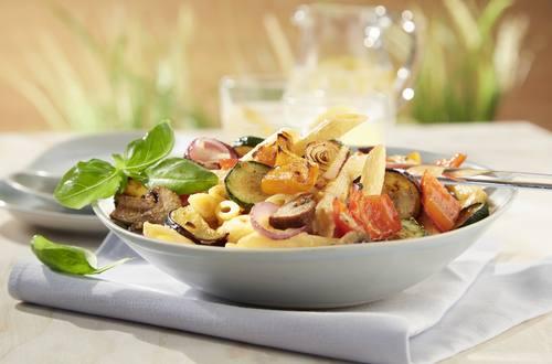 Knorr - Nudelsalat mit gegrilltem Gemüse