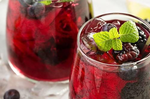 Mixed Berry Iced Tea