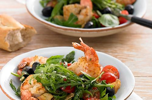 Knorr - Insalata con Gamberetti (Salat mit Garnelen)