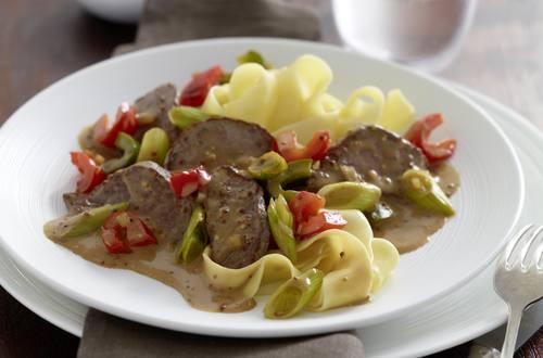 Knorr - Filet-Geschnetzeltes in Senf-Sahnesauce