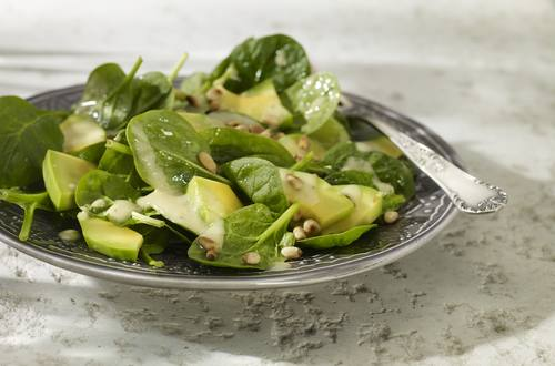 Spinat-Avocado-Salat