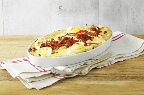 Gratinierter Kartoffelstock