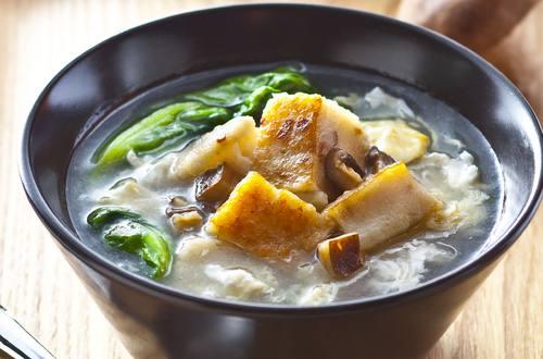 香菇雞蓉蘿蔔糕湯