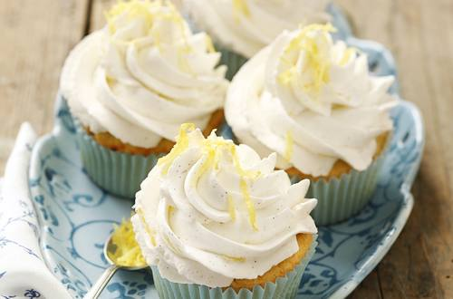 Knorr - Topfen-Mandel-Cupcakes