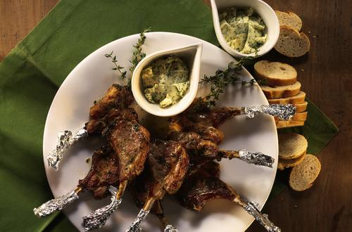 Knorr - Lammkoteletts vom Grill