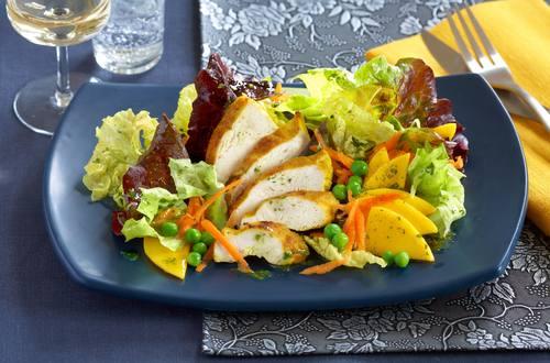 Indischer Hähnchen-Salat