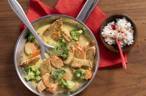 Curry-Geschnetzeltes