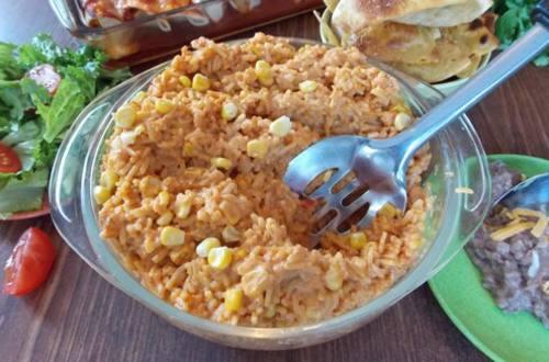 Creamy Southwest Rice