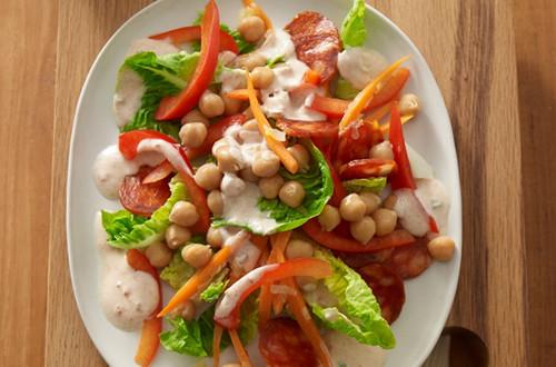Karotten-Kichererbsen-Salat