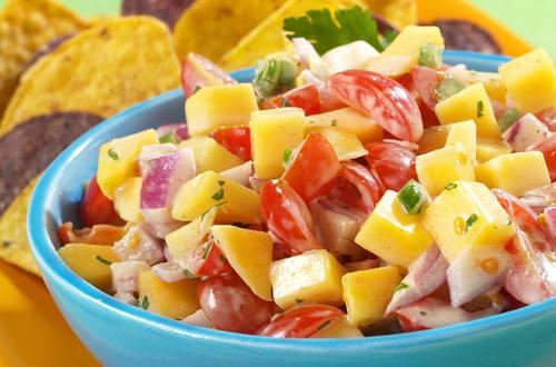 Salsa crémeuse à la mangue