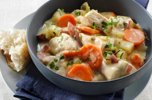 Creamy Leek Chicken Stew