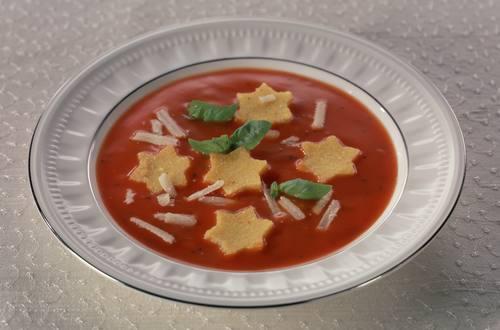Knorr - Tomatencremesuppe mit Polenta