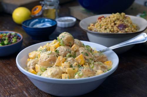 Hellmann's - Salade de pommes de terre chaude