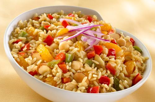 Tamarind Rice & Chick Peas