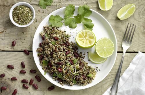 Limetten Quinoa Salat