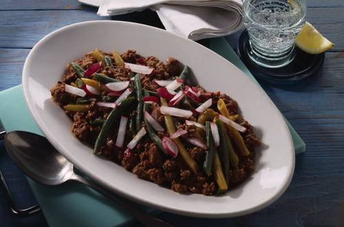 Knorr - Sommer-Chili mit Bohnen und Faschiertem