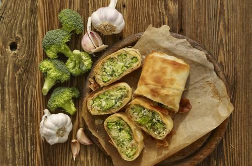 Brokkoli-Käse Strudel