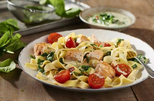 Knorr - Cremige Pasta mit Lachs