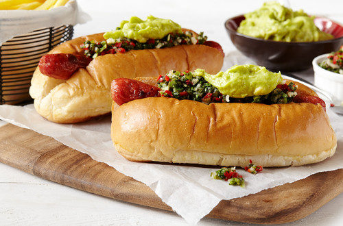 Chimichurri Hot Dogs