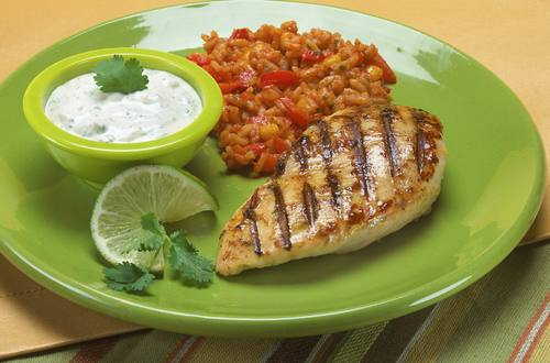 Knorr Lime Chicken with Creamy Chipotle Dip