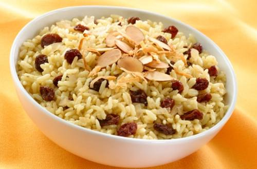 Ginger, Coconut & Currant Rice