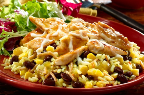 Black Bean Cheesy Chicken
