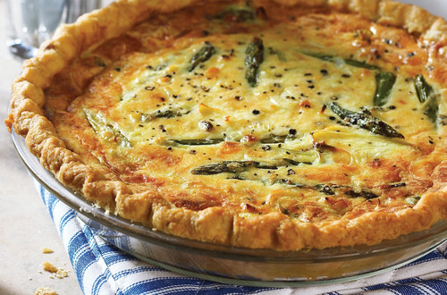 Leek and Asparagus Tart