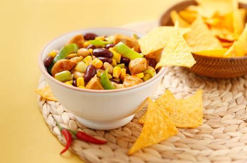 Knorr - Feuriges Putenchili mit Bohnen und Mais