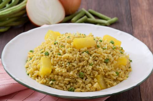 Pineapple Curry Fried Rice Recipe