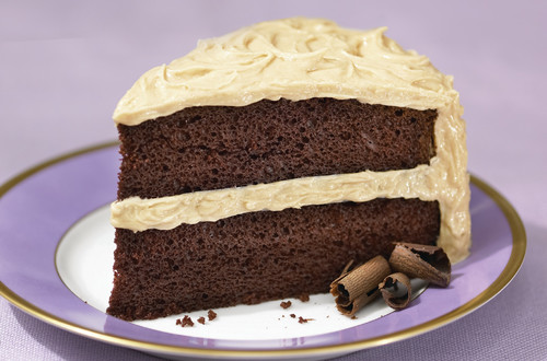 Homemade Chocolate Cake Peanut Butter Frosting