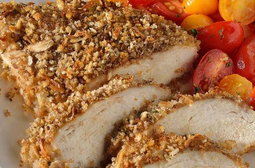 Savory Onion-Crusted Chicken Recipe