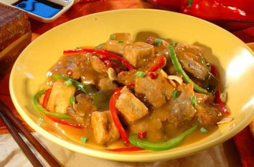 Pork Tokwa in Hot and Sour Sauce Recipe