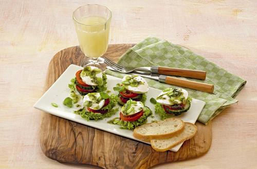 Salattürmchen