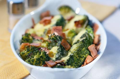 Broccoli-Schinken-Gratin