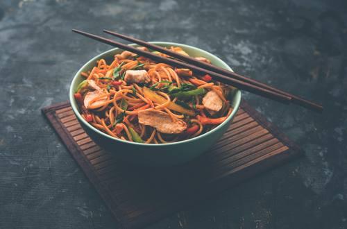 Chicken Stir Fried Noodles