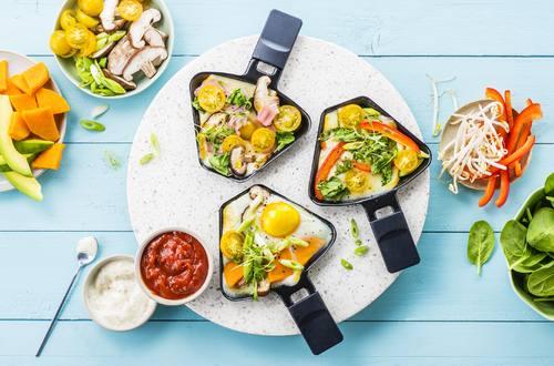 Knorr - Raclette mit Ei
