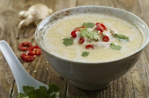 Wärmende Thai-Suppe - Ausschnitt