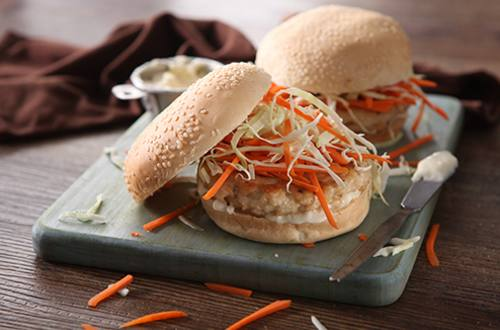 Chicken Burger Surprise Recipe