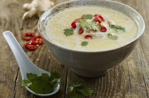 Soupe thaï épicée