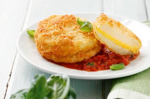 Knorr - Kohlrabi-Piccata mit Tomatenragout
