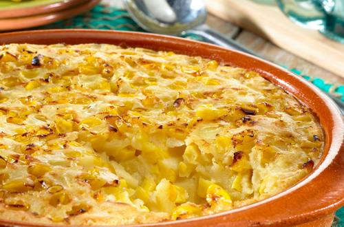 Corn & Onion Pudding