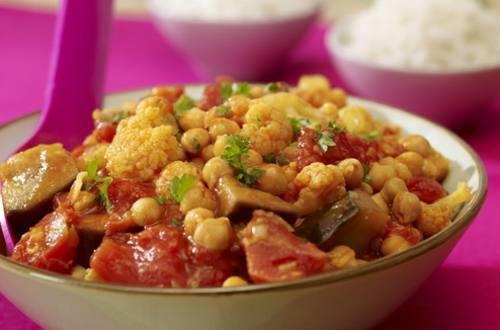Un curry de légumes simplissime
