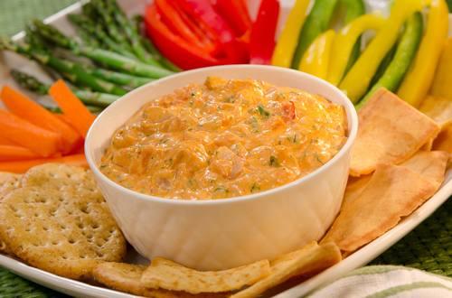 Salsa picante de camarones y tomates deshidratados