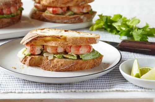 Hellmann's - Garnelen Sandwich
