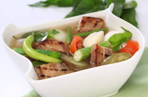 Sinigang na Grilled Liempo Recipe